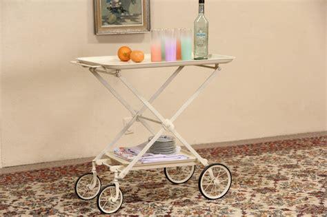 SOLD   Medical 1920's Folding Cart, Beverage, Tea or