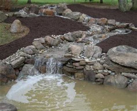 how to create a pond and stream for an outdoor waterfall water features ecosystem ponds waterfalls stream
