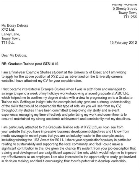 Application Letter Sle Trainee sle of application letter as a trainee 28 images