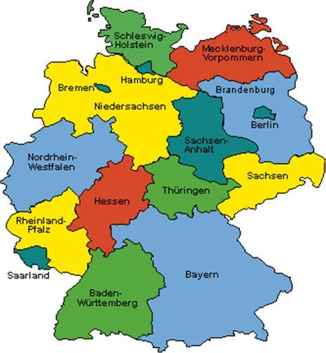 deutsche mappe bundesland deutschland