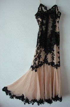 Adore Vintage Gorgeous Dresses And Vintage Couture Chic by I Like The Bra Style Better For Small Like Those