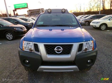 2014 metallic blue nissan xterra pro 4x 4x4 88818539 photo 2 gtcarlot car color galleries