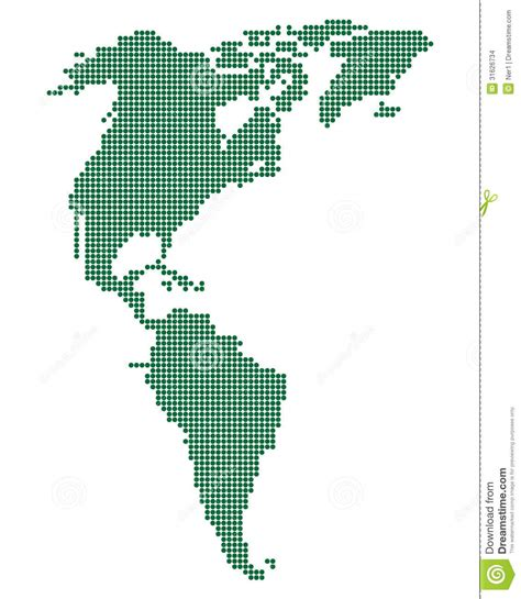 america map free vector green map of america stock vector image of image