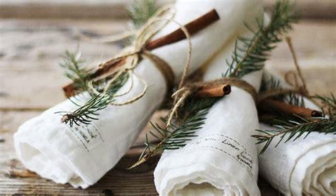 landelijke tafel zelf maken kerstdecoratie voor op tafel recepten van domy