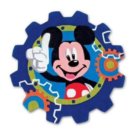 mickey mouse clubhouse rug disney mickey mouse clubhouse blue 4 ft accent rug discontinued dymky4r the home depot