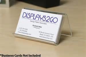 business card displays plastic business card holder clear acrylic desk display