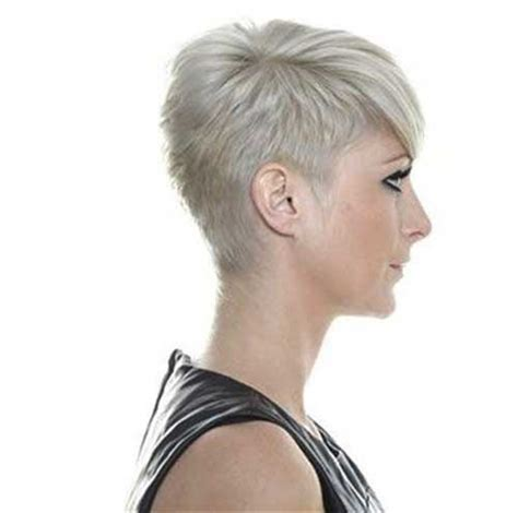 very short in back and very long in front hair pixie cut back view pinterest newhairstylesformen2014 com