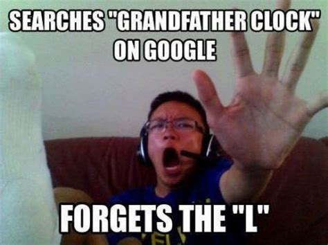 Funny Memes Pic - searches for grandfather clock on google mad cow club meme
