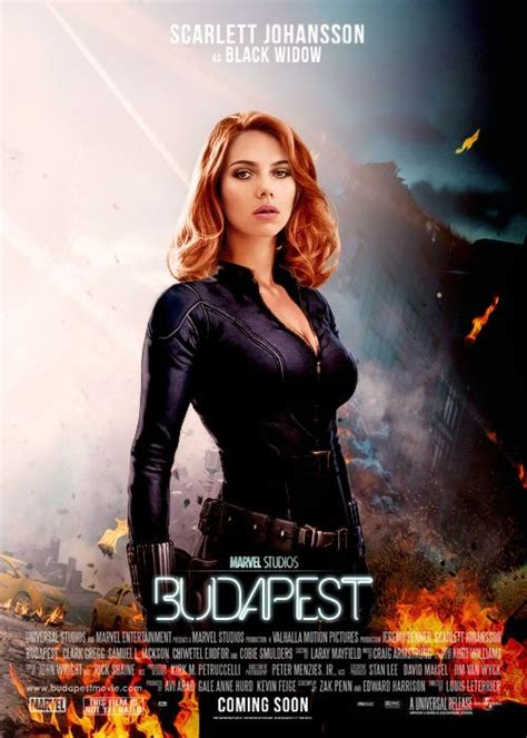 black widow movie fan poster for the black widow hawkeye quot budapest quot movie