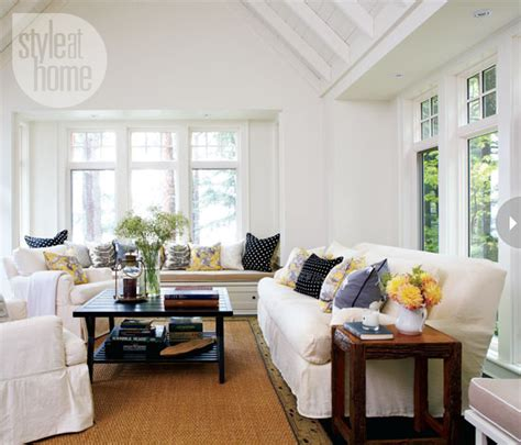Interior Rustic Contemporary Cottage Style At Home Cottage Family Room
