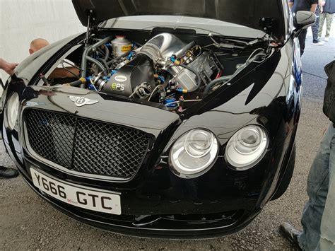 bentley drag car road bentley continental turbo v8 dragster