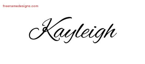 tattoo name kayleigh cursive name tattoo designs kayleigh download free free