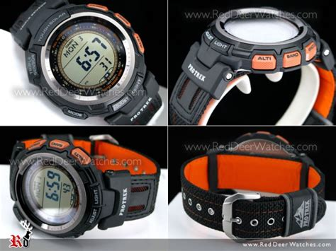 Casio Prg 110 1v Tough Solar buy casio pro trek tough solar sensor 2 straps