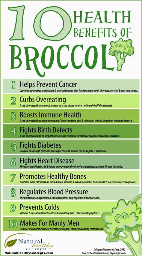 10 Health Benefits Of by Top 10 Health Benefits Of Broccoli