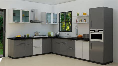 Modular Kitchen Cabinet Pvc Modular Kitchen Cabinets Coimbatore Kovai Interiors