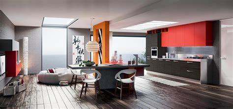 cucine soggiorni la cucina soggiorno come arredarla cucine moderne