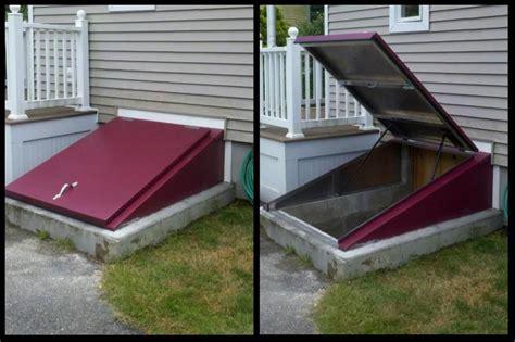 Insulated Basement Door by Hatchway Door Covers Cleargress Basement Door Cleargress