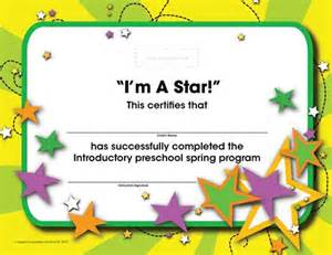 how child fitness certificates mark and encourage growth