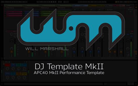 ableton dj template apc40 ableton dj template for the apc40 by will marshall free