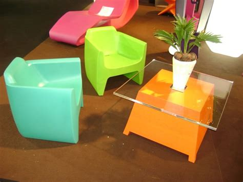 stunning modern plastic furniture for your home interior