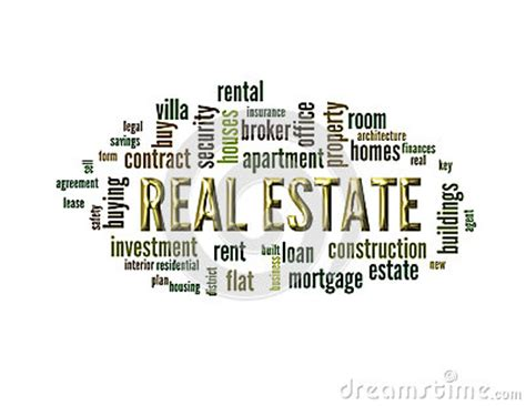 A Word On Reality by Concept Of Real Estate Stock Illustration Image 60375467