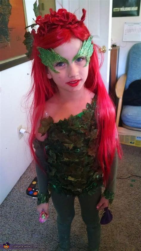 poison ivy girls homemade costume