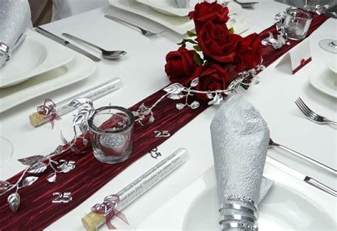 Tischdeko Silberhochzeit by Tischdeko Zur Silberhochzeit F 252 R Eine Unvergessliche Feier