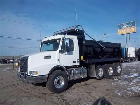 volvo used trucks volvo vhd84b200 dump trucks for sale 16 used trucks from
