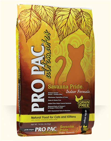 propac food savanna pride pro pac ultimates