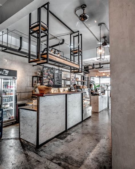 favorite  lovely industrial style cafe