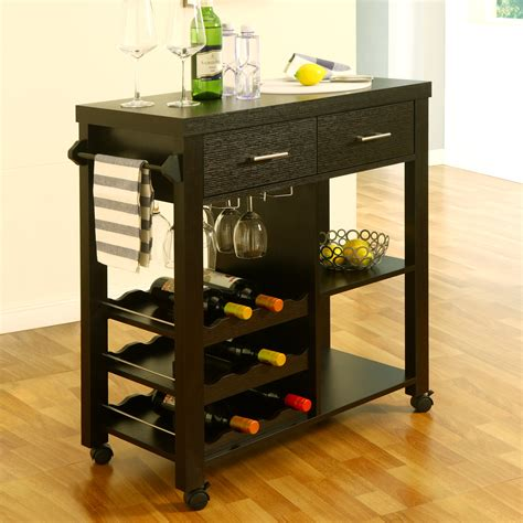 Kitchen Bar Cart by Enitial Lab Idi 12581 Franklen Mobile Kitchen Bar Cart