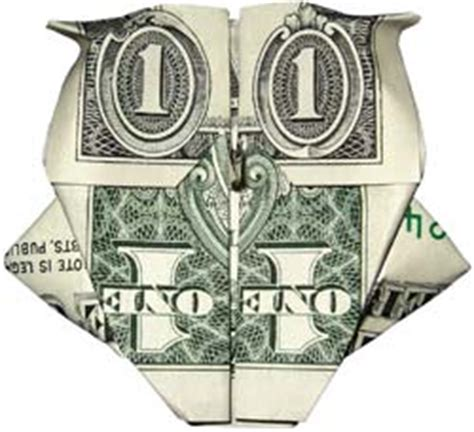 Money Origami Owl - dollar artist money app