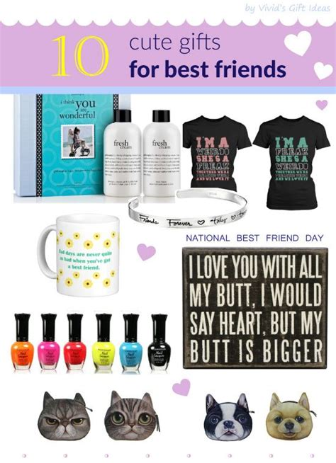 national best friend day gift ideas for best friend