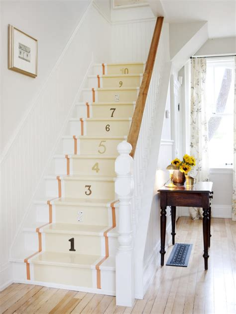 painted stairs 7 painted staircase ideas diy