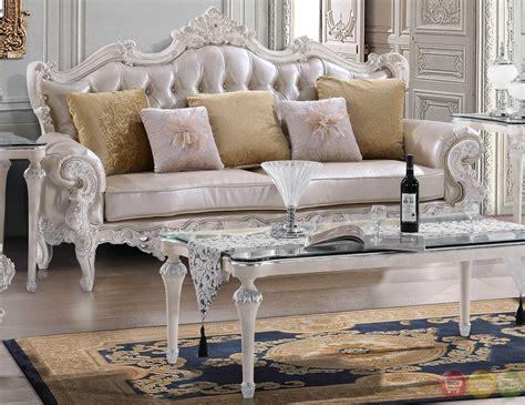 luxury leather sofa sets luxury carved bonded leather homey design sofa sets on