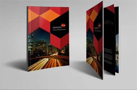 Cool Brochure Templates 40 cool printed brochure designs
