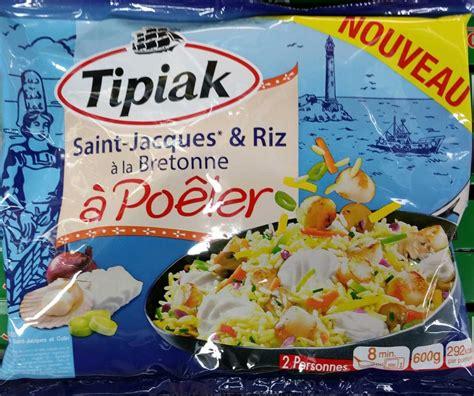 cuisiner les st jacques surgel馥s jacques riz 224 la bretonne 224 po 234 ler surgel 233