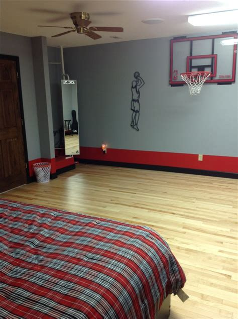 Basketball Bedroom by 17 Best Ideas About Basketball Themed Rooms On