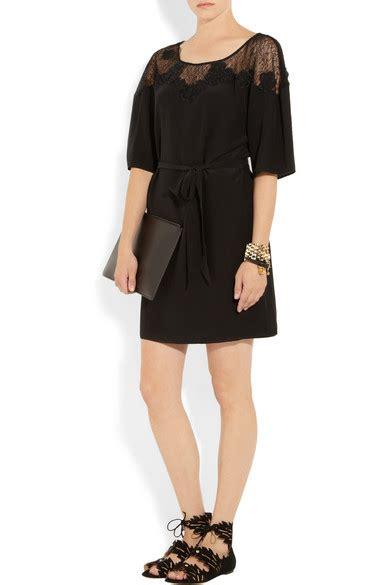 Kimi Mici Dress by temperley mini kimi tulle paneled silk dress