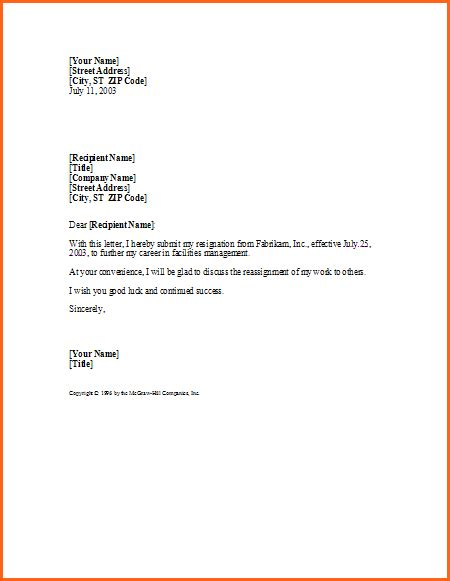 Resignation Letter Free by 5 Resignation Letter Sles Free Budget Template Letter