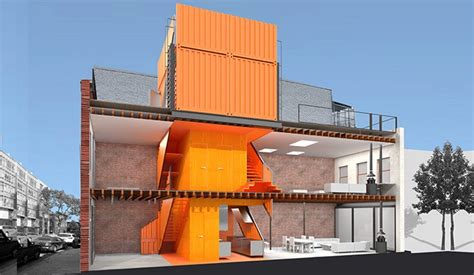 home design firm brooklyn a shipping container tower transformed this brooklyn