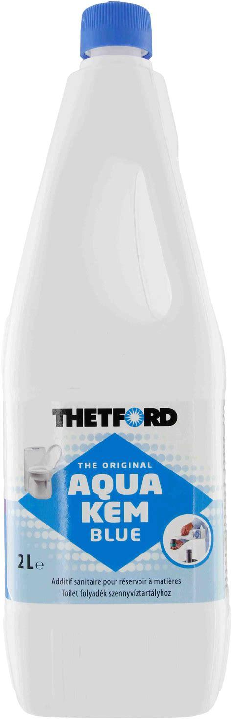 toilette chimique thetford liqu 233 fiant wc chimique thetford aqua kem bleu bidon 2