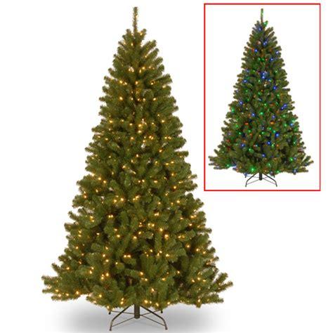 pre lit artificial christmas tree paradise fir dual