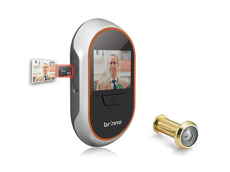 Front Door Peephole Viewer Brinno Phv1330 Peephole Viewer Stacksocial