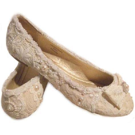Ivory Lace Flat Wedding Shoes by Lace Wedding Shoes Flat Wedding Inspiration