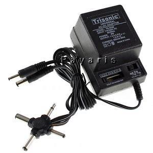 Adaptor 12 Volt 3 Ere ac dc universal power adapter 6 plugs 500ma 1 5v 3v 4 5v 6v 7 5v 9v 12v 110 220 ebay