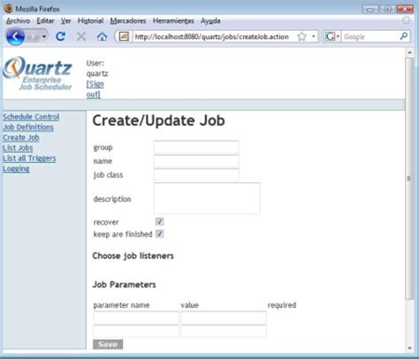 Tutorial Java Quartz | planificaci 243 n de tareas en java mediante quartz