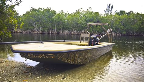 skiff duck hunting boat poling skiff turned duck boats microskiff dedicated to
