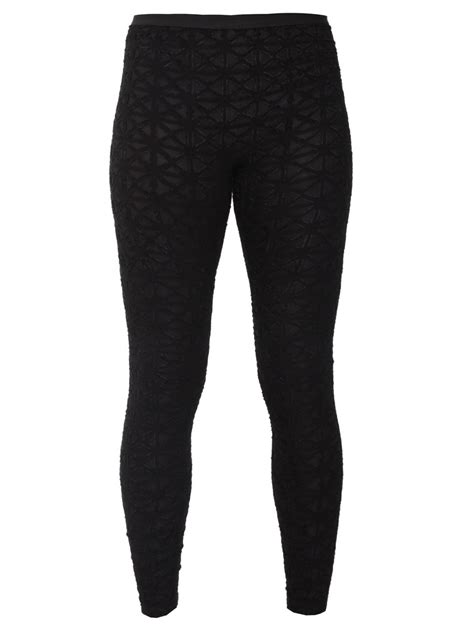 black and white patterned tights black patterned leggings trendy clothes
