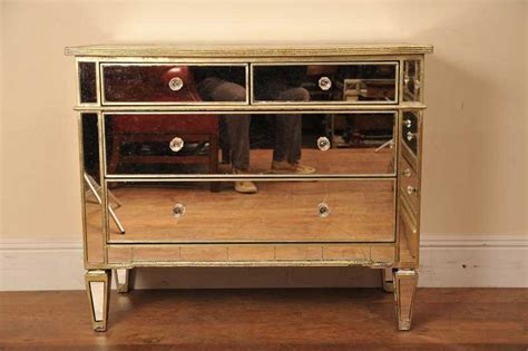 Glass Chester Drawers by Mirrored Chest Drawers Glass Mirror Deco